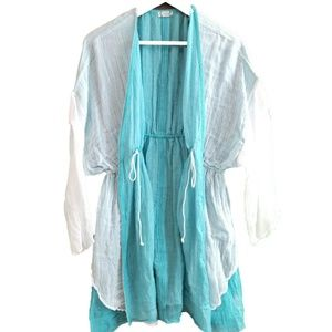 Free People intimately Surf's up cover up kimono